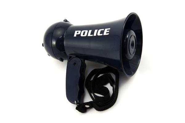 Megafon dětský TEDDIES POLICIE