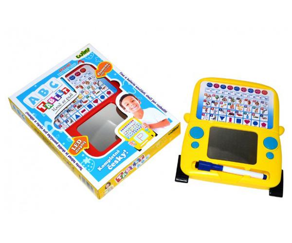 Tablet dětský TEDDIES ABC naučný