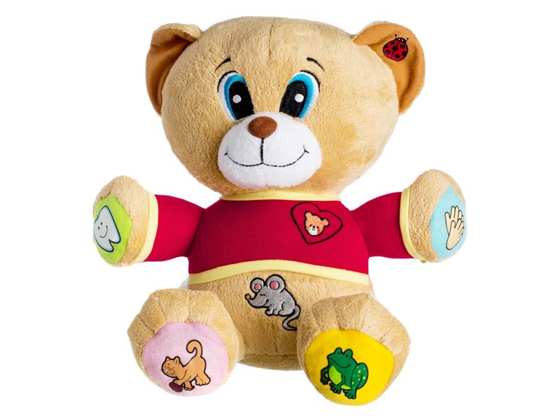 Medvídek plyšový TEDDIES TEDÍK česky mluvící