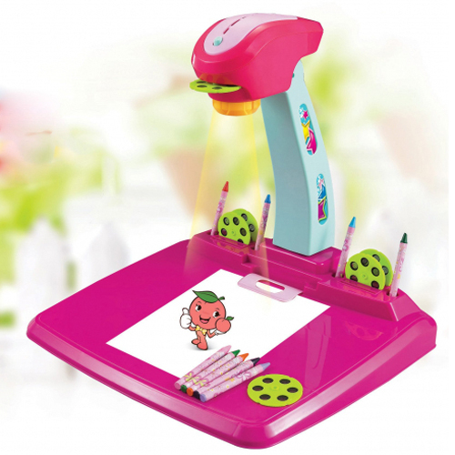 Dětský kreslící projektor G21 PINK