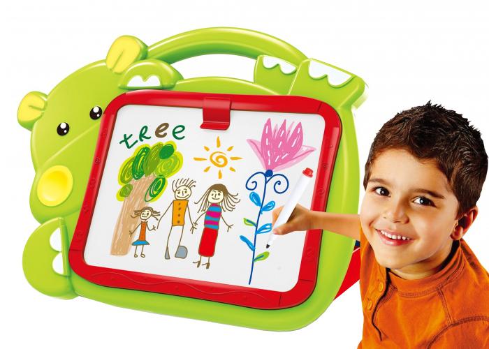 Dětská kreslící tabulka G21 HROŠÍK