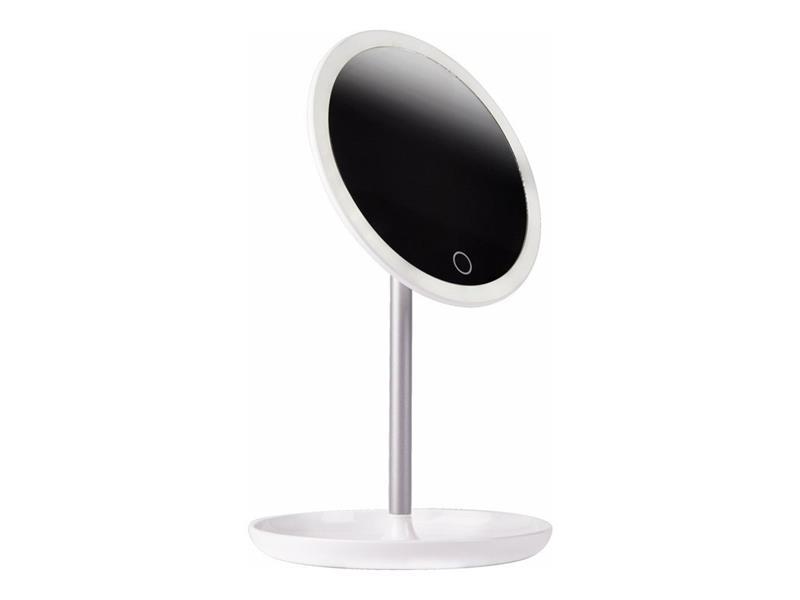Zrcátko kosmetické IMMAX CIRCLE + LED podsvícení 08941L