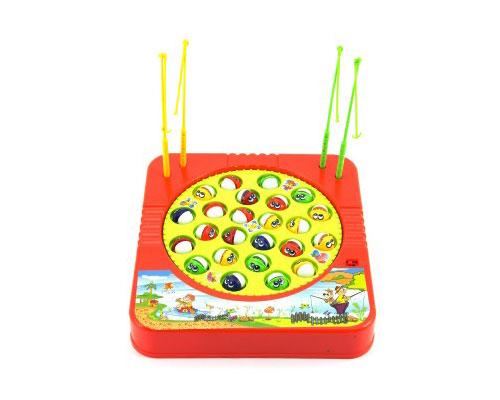 Hra stolní TEDDIES CHYTÁNÍ RYB dětská na baterie