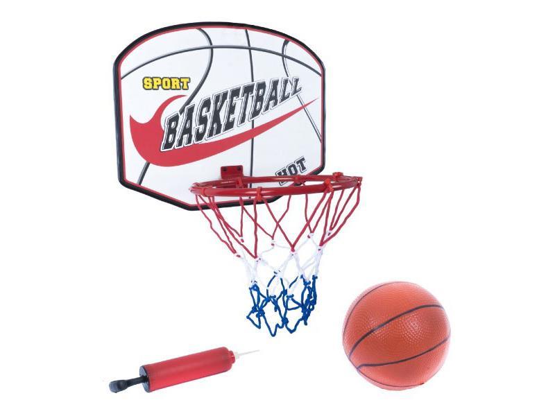 Koš na basketbal TEDDIES dětský s příslušenstvím