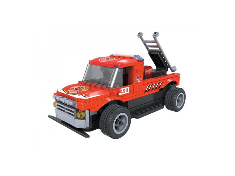 Stavebnice RC MODEL DROMADER hasičské auto