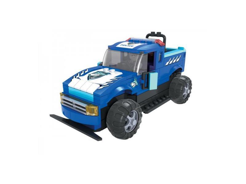 Stavebnice RC MODEL DROMADER policejní auto