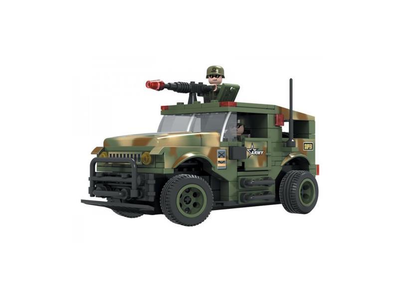 RC model DROMADER vojenské auto