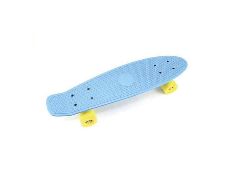 Dětský skateboard TEDDIES BLUE