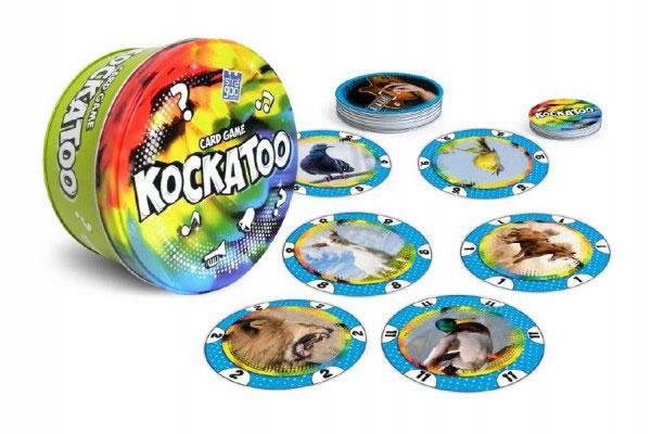 Hra karetní BONAPARTE KOCKATOO dětská