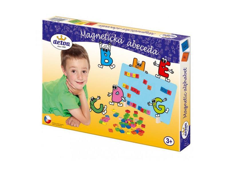 Dětské magnetické puzzle DETOA Abeceda