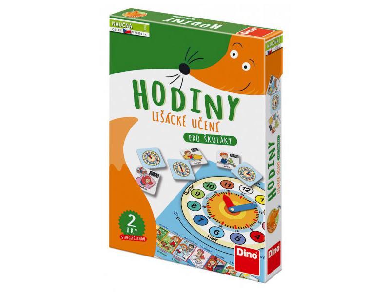Hra vzdělávací DINO HODINY dětská