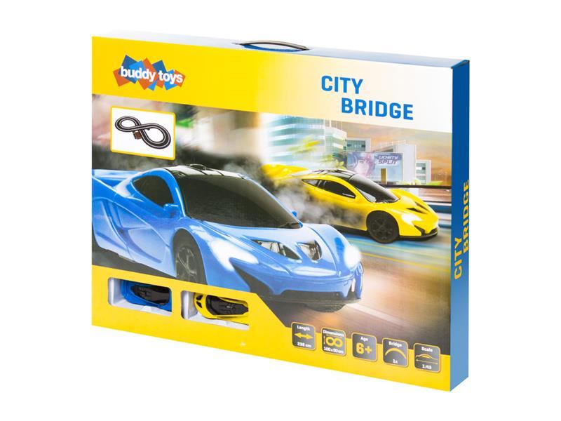 Autodráha BUDDY TOYS City BST 1262