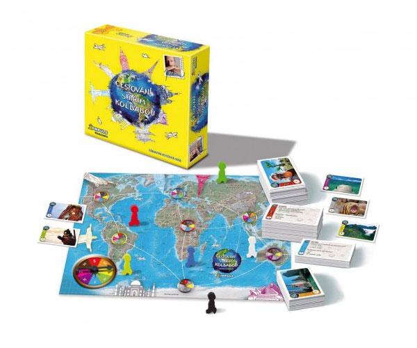 Vzdělávací hra BONAPARTE Cestovní s Jirkou Kolbabou