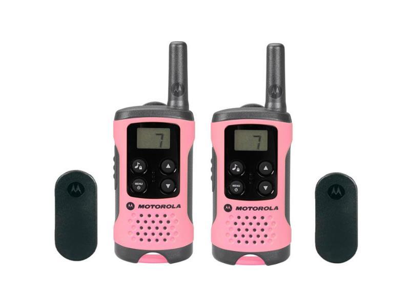 Vysílačky MOTOROLA TLKR T41 růžová