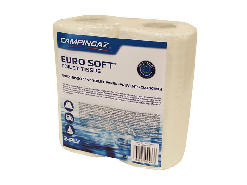 Papír toaletní CAMPINGAZ EURO SOFT pro chemické toalety 4 role