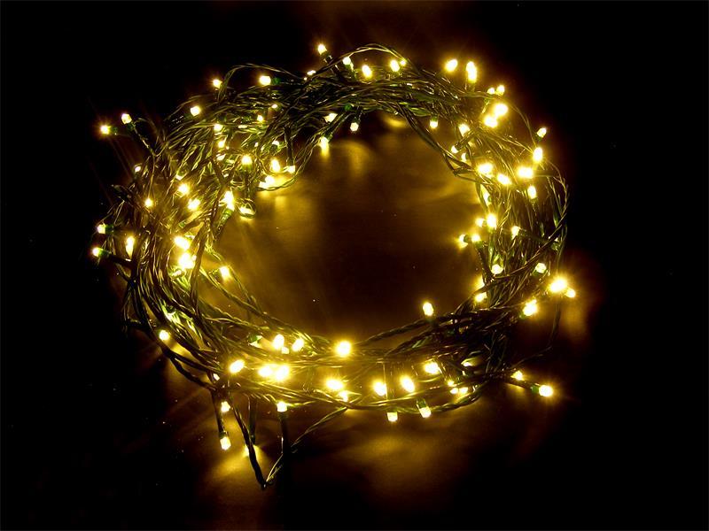 Řetěz vánoční 150 LED 20m teplá bílá IP44 RETLUX RXL1