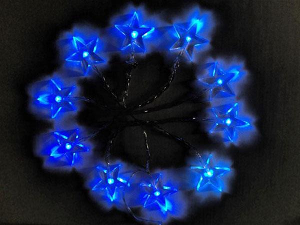 Řetěz vánoční SOLIGHT 1V52-B hvězdy