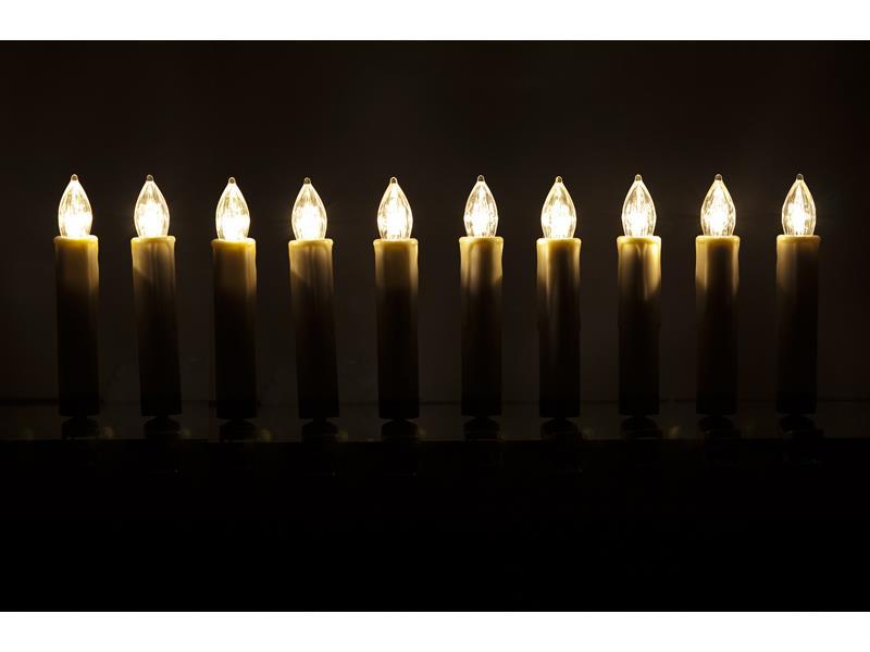 Retlux RXL 45 10LED Candle RGB RC BAT 50001812
