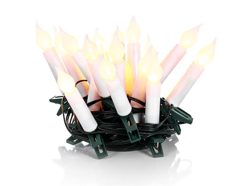 Svíčky vánoční 20 LED 5+5m WW TM RETLUX RXL231