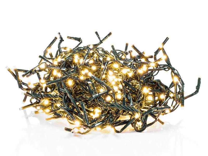 Řetěz vánoční ježek 600LED 11+5m WW TM RETLUX RXL287