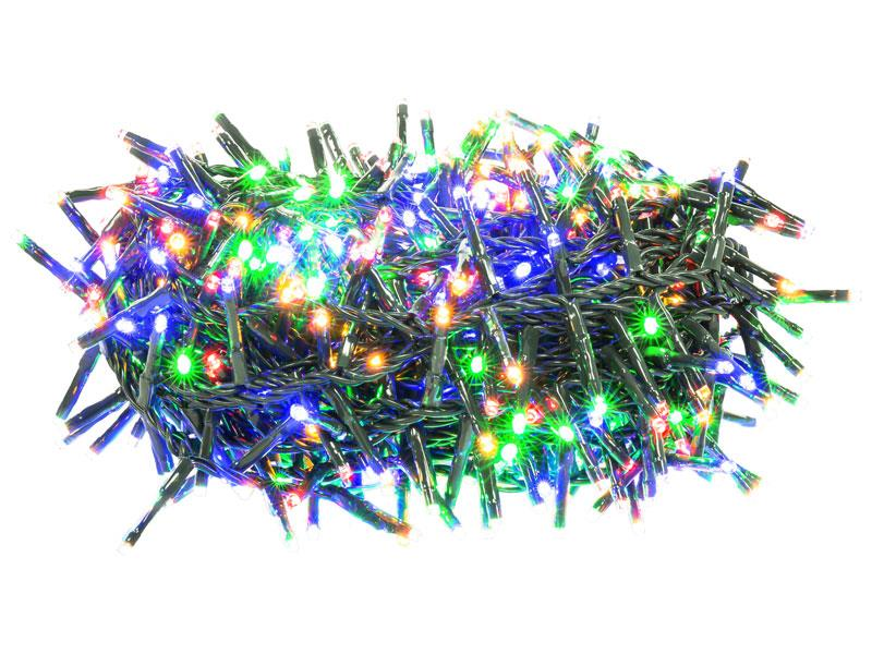 Řetěz vánoční ježek 600LED 11+5m MC TM RETLUX RXL289