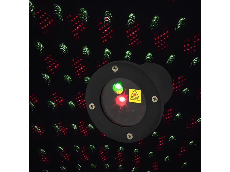 Vánoční dekorace Laser Red/Green DO IP44 RETLUX RXL290