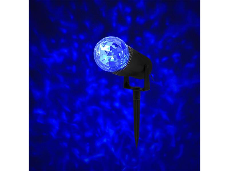 Vánoční dekorace Projektor s efektem vodnch vln BLUE RETLUX RXL292