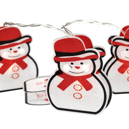 Řetěz vánoční SOLIGHT 1V206 sněhuláci