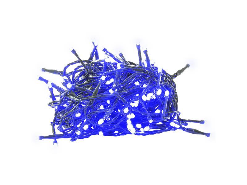 Řetěz vánoční 150 LED 15+5m BLUE TM RETLUX RXL305