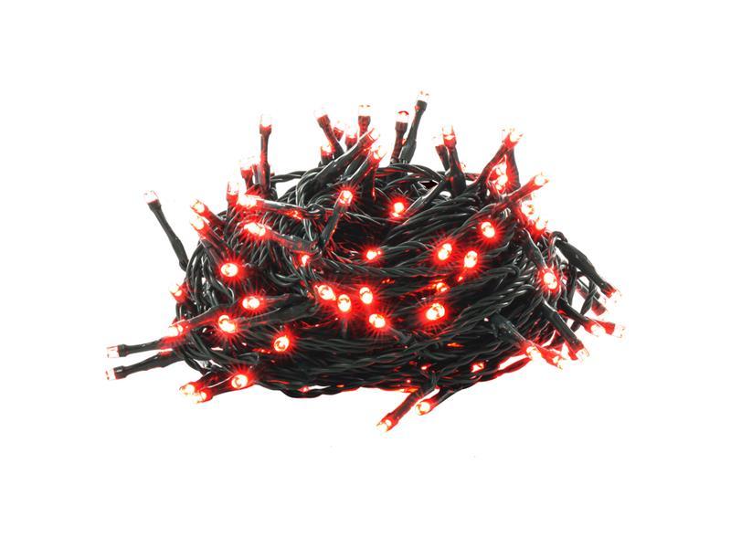 Řetěz vánoční 150 LED 15+5m RED TM RETLUX RXL307