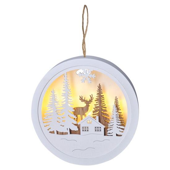 Dekorace vánoční SOLIGHT 1V223-A jelen