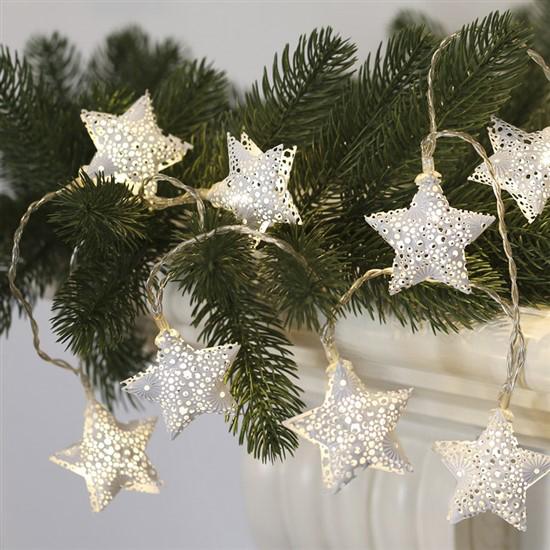Řetěz vánoční SOLIGHT 1V224 hvězdy