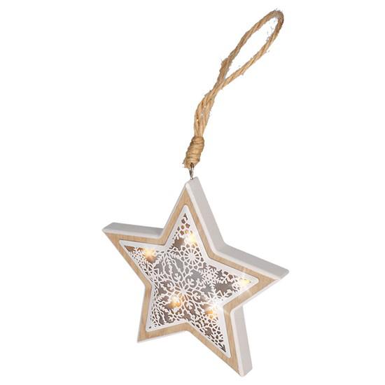 Dekorace vánoční SOLIGHT 1V45-S hvězda