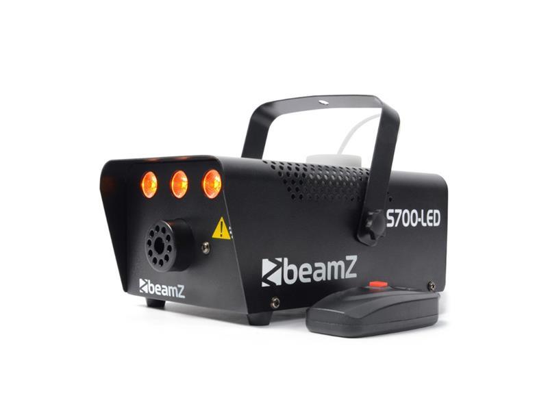Efekt výrobník mlhy BEAMZ S700-LED Flame efekt, oranžový