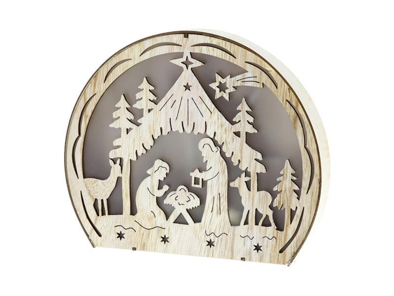 Dekorace vánoční RETLUX RXL 331 WW betlém