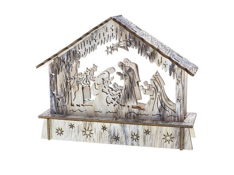 Dekorace vánoční RETLUX RXL 336 WW betlém