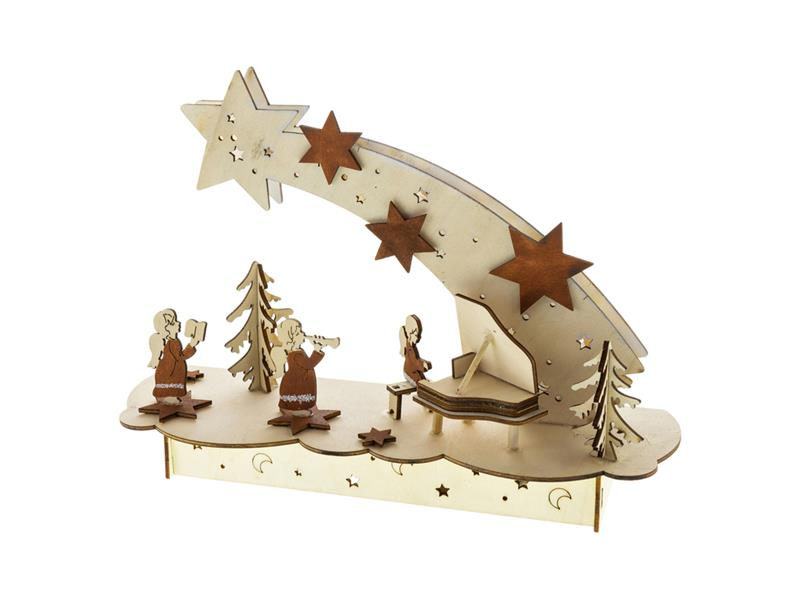 Dekorace vánoční RETLUX RXL 343 WW muzikanti