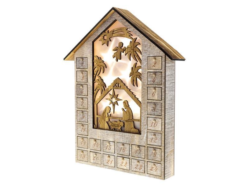 Dekorace vánoční RETLUX RXL 344 WW adventní kalendář