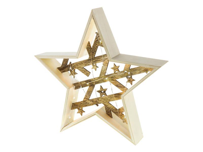 Dekorace vánoční RETLUX RXL 312 WW hvězda