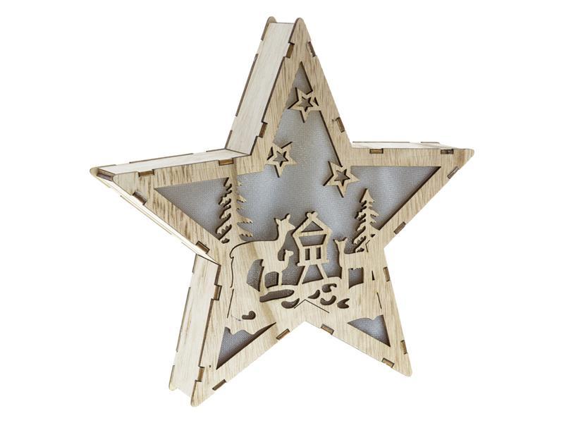 Dekorace vánoční RETLUX RXL 321 WW hvězda
