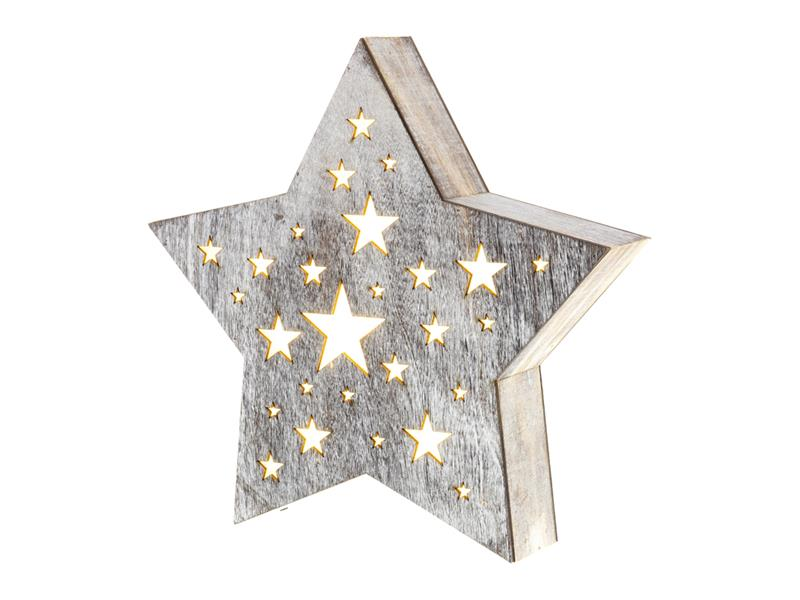 Dekorace vánoční RETLUX RXL 347 WW hvězda malá