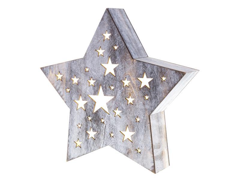 Dekorace vánoční RETLUX RXL 348 WW hvězda střední