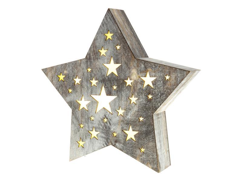 Dekorace vánoční RETLUX RXL 349 WW hvězda velká