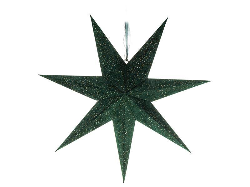 Dekorace vánoční RETLUX RXL 337 WW hvězda zelená