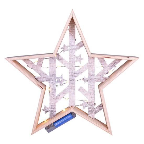 Dekorace vánoční SOLIGHT 1V231 hvězda