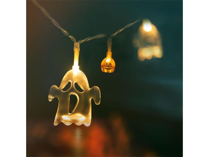 Řetěz světelný 56523 Halloween duch/dýně