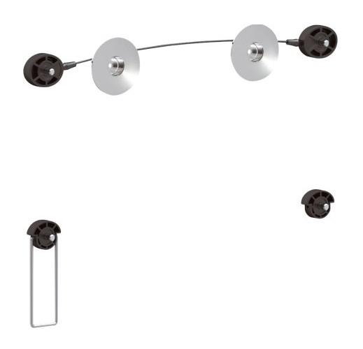 Držák na LED/LCD/Plazma TV T0112 400/400 VESA