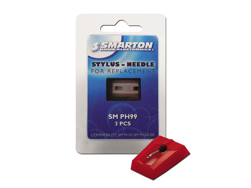 Náhradní jehly SMARTON SM PH99  (3ks) pro gramofon