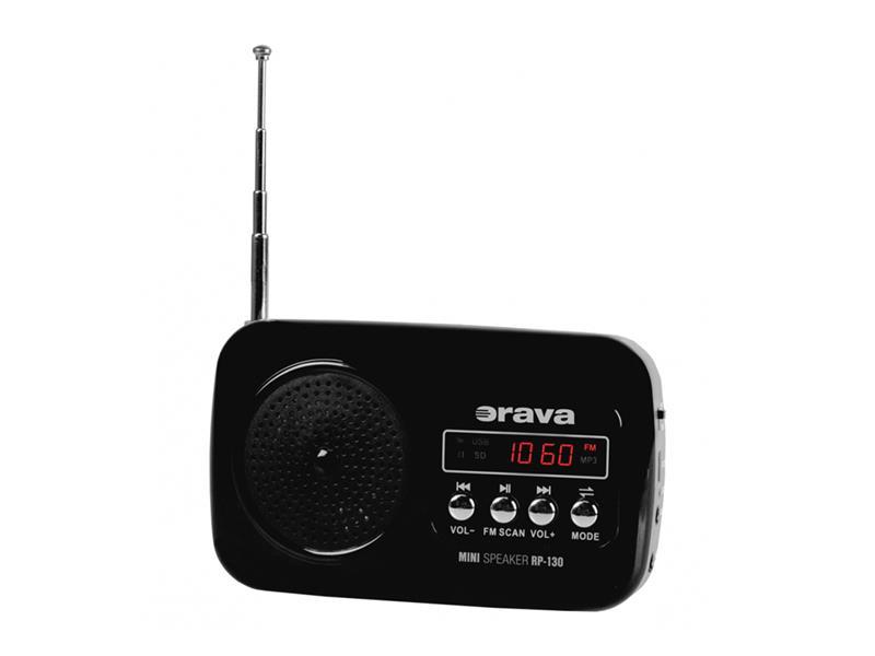 Rádio kapesní ORAVA RP-130 HEcz
