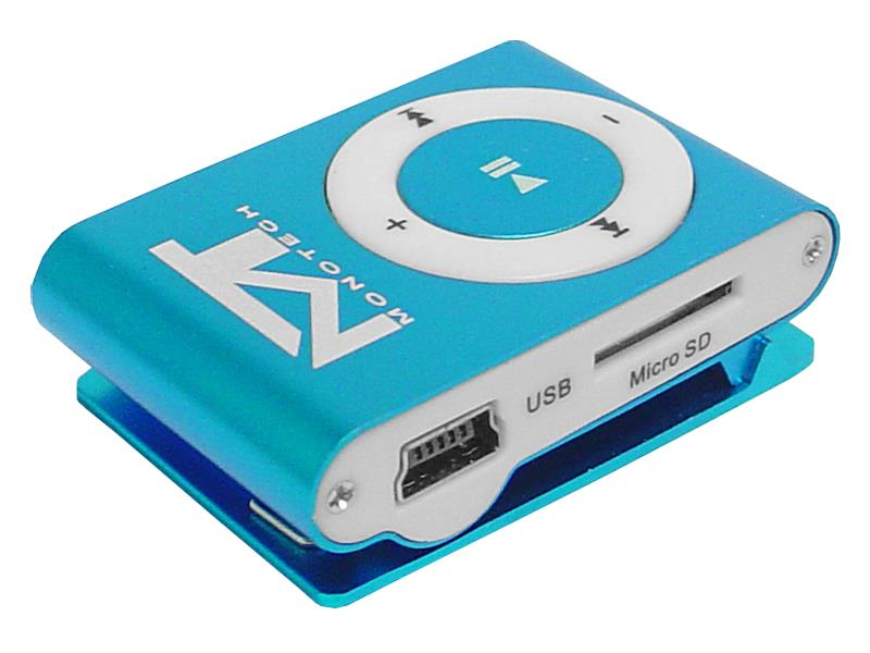 Přehrávač MP3 MonoTech modrá